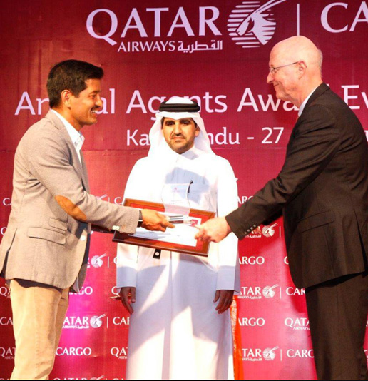 Qatar Airways Agents Award